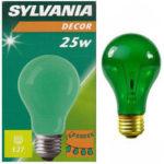 Bulbo verde 25W - E27