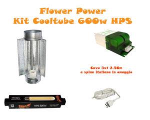 Kit Cooltube HPS 600W Fioritura BASE