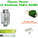 Kit Cooltube AGRO 150w Grow&Flow BASE