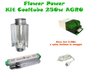 Kit Cooltube AGRO 250w Grow&Flow BASE