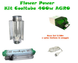 Kit Cooltube AGRO 400w Grow&Flow BASE